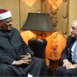 صور  وكيل الأزهر يلتقي رئيس اتحاد المؤسسات الإسلامية بالبرازيل