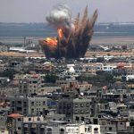 جيش الاحتلال يقصف موقعا للفصائل وسط قطاع غزة