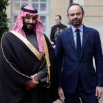 ولي العهد السعودي يلتقي رئيس الوزراء الفرنسي في باريس