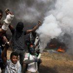 فيديو| مراسل الغد: الاحتلال يطلق على المتظاهرين غازا «محرما دوليـا»