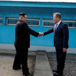 صور  كيم جونج أون أول زعيم كوري شمالي يعبر الحدود إلى الجنوب منذ الحرب