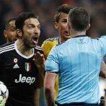 بوفون يهاجم حكم مواجهة ريال مدريد ويصفه بـ«الحيوان»