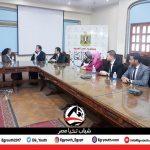 رئيس منتدى القادة الشباب بإسبانيا يلتقي شباب تحيا مصر