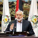 هنية يشيد بجهود ملك المغرب محمد السادس  في مساعدة مصابي غزة