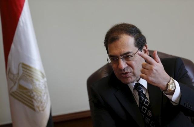 وزير البترول المصري طارق الملا - صورة من أرشيف رويترز