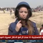 فيديو  مراسلة الغد: جيش الاحتلال يستهدف الطواقم الصحفية في شرق غزة