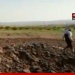 فيديو| شاهد.. اللقطات الأولى لأثار الضربات الجوية على سوريا