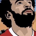 الشغف بكرة القدم ومحمد صلاح يهيمنان على الملتقى الدولي للكاريكاتير