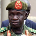 وفاة قائد جيش جنوب السودان الجنرال جيمس أجونق