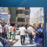 فيديو| مراسل الغد: انطلاق مسيرة تضامنية بالخليل لدعم الأسرى في سجون الاحتلال