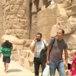 فيديو  جولة لكاميرا الغد داخل معبد الكرنك بالأقصر