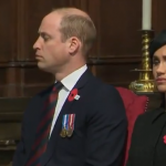 الأمير ويليام يغط في النوم أثناء مراسم رسمية