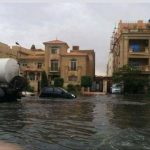 تقلبات جوية تشهدها مصر والأمطار تغرق شوارع القاهرة