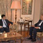 وزير الخارجية المصري يبحث مع نظيره الأوكراني العلاقات الثنائية والقضايا الإقليمية