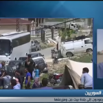 فيديو| مراسل الغد: 9 حافلات تقل نازحين في طريق العودة للأراضي السورية