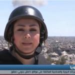 فيديو| الجيش السوري يواصل ضرباته المكثفة على مواقع داعش جنوبي دمشق