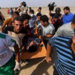 إصابة 6 فلسطينيين بمواجهات اليوم الحادي عشر لمسيرة العودة شرق غزة