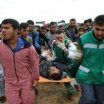 استشهاد شاب فلسطيني برصاص الاحتلال شرق خانيونس جنوب قطاع غزة