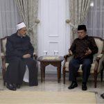 نائب الرئيس الإندونيسي يقيم مأدبة عشاء ترحيبا بالإمام الأكبر