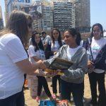 السفارة البريطانية تشارك في تنظيف شاطئ مدينة الإسكندرية