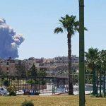 ارتفاع حصيلة انفجارات مطار حماة العسكري إلى 28 قتيلا