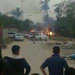 استشهاد 5 فلسطينيين في انفجار غامض وسط قطاع غزة