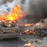 التلفزيون السوري: قتيل ومصابون في انفجار إرهابي بدمشق