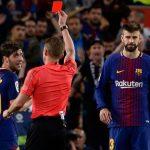 إيقاف روبرتو مدافع برشلونة 4 مباريات لاعتدائه بدون كرة على مارسيلو