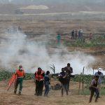 فيديو| مراسل الغد: المتظاهرون يسقطون طائرة إسرائيلية شرق خان يونس