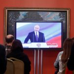 الرئيس الروسي بوتين يؤدي اليمين لفترة ولاية رابعة