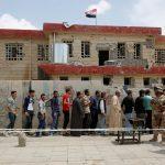 عراقيون يتوجهون إلى صناديق الاقتراع في البصرة