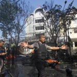 9 قتلى و40 جريحا في اعتداءات استهدفت كنائس في اندونيسيا