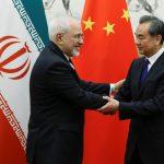 اجتماع وزير الخارجية الإيراني مع نظيره الصيني