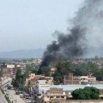 قصف جوي أمريكي وأفغاني لإخراج طالبان من عاصمة ولاية في غرب البلاد