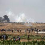 توافد الفلسطينيين للمشاركة في جمعة مقاومة التطبيع