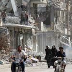 اتفاق لوقف النار يدخل حيز التنفيذ في جنوب دمشق بين قوات النظام وتنظيم «داعش»