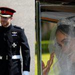 صور| ميجان ماركل تغادر الفندق باتجاه قلعة ويندسور لبدء مراسم الزفاف الملكي