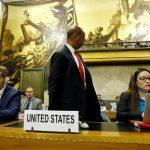 واشنطن تنسحب من مؤتمر نزع السلاح احتجاجا على رئاسة سوريا