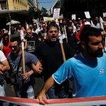 عمال يونانيون يضربون ضد الإصلاحات التقشفية