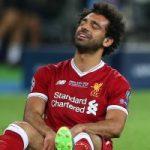 إصابة محمد صلاح تهدد مشاركته مع الفراعنة في كأس العالم