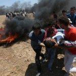 غزة.. ارتفاع ضحايا «مليونية العودة» إلى 38 شهيدا و1800 مصاب