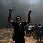فيديو| قوات الاحتلال تعتدي على المقدسيين خلال تظاهرات مناهضة لنقل السفارة