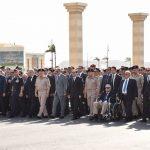 صور| السيسي يتقدم جنازة خالد محيي الدين أحد أعضاء مجلس قيادة ثورة 23 يوليو