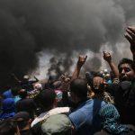 41 شهيدا و2000 مصاب على حدود غزة في مليونية العودة الكبرى