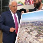 حماس: تسلم فريدمان مخطط للقدس دون الأقصى سلوك عنصري خطير