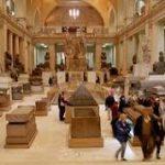 جمع كل عربات الملك توت تحت سقف واحد في المتحف المصري الجديد