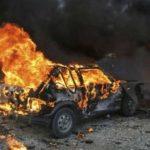 انفجار سيارة ملغومة في موكب عسكري بالصومال
