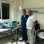 وصول أول جريح فلسطيني للعلاج في مصر