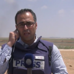 فيديو| مراسل الغد: طائرات الاحتلال تلقي قنابل الغاز بكثافة على المتظاهرين شرق جباليا