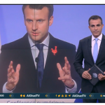 فيديو| النووي الإيراني يتصدر أول زيارة للرئيس الفرنسي إلى روسيا